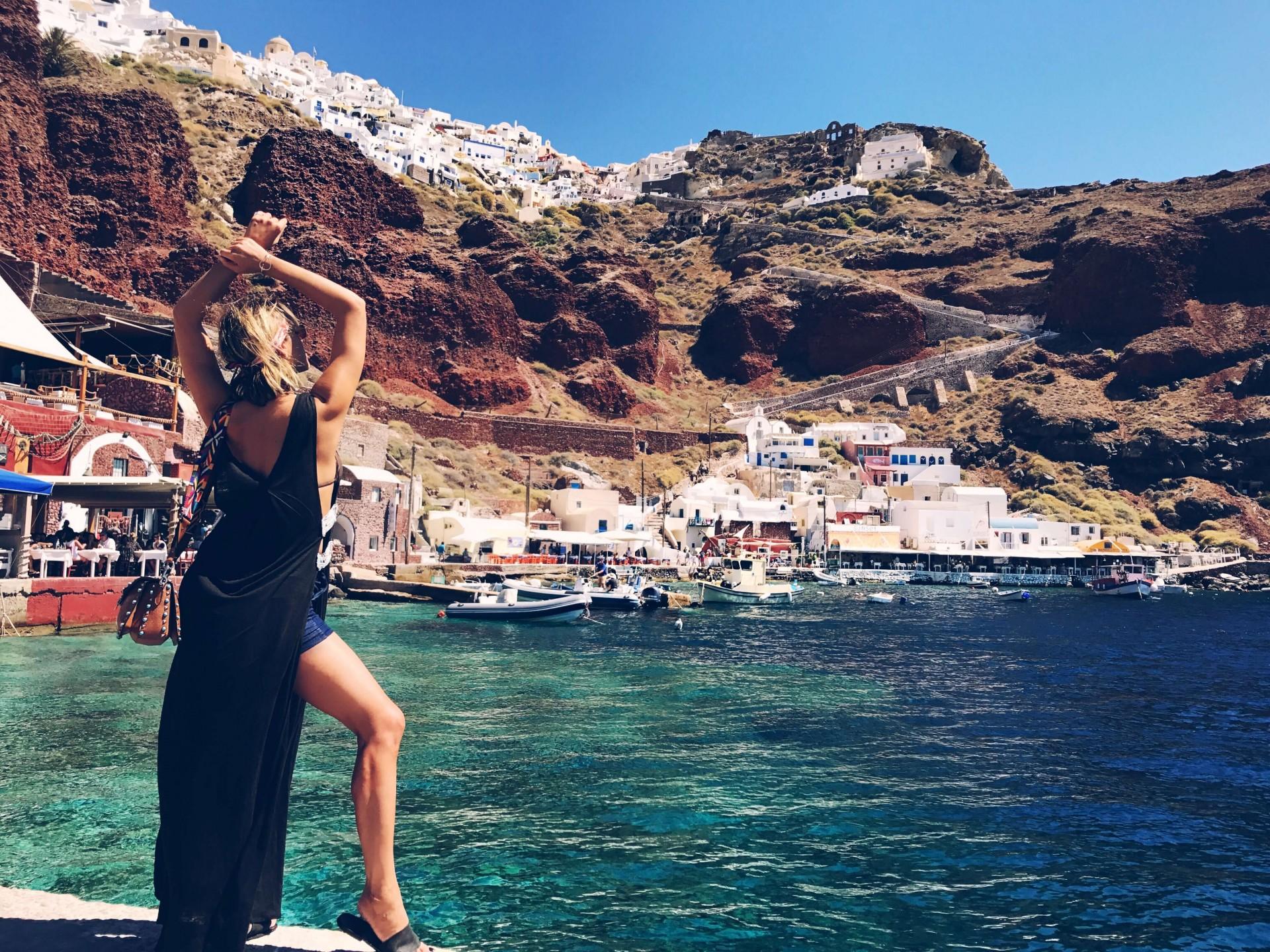 Amoudi Villas My Trip To Santorini Elena Galifa Cool Ur Style