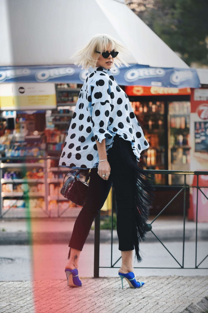 POLKA DOTS AND FRINGES #uterque